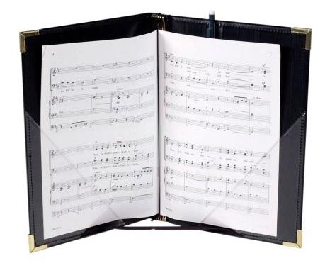 Choir Folder with String