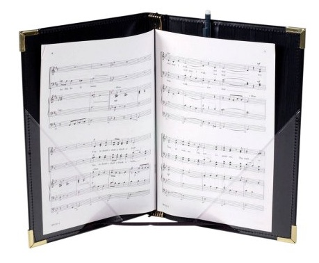 Choir Folder with String